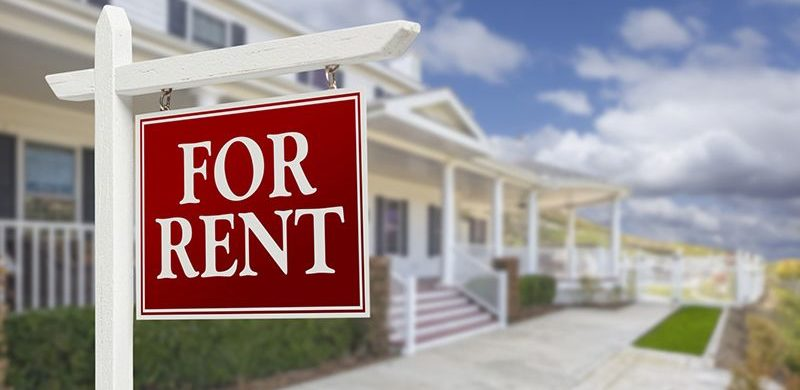 home with rental sign in front, ask yourself these questions when purchasing renters insurance